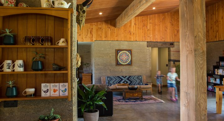 Benefits of Earth Homes - Warm, dry and healthy